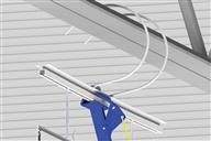 siffron has a variety of ceiling hangers and ceiling clamps, including banner hanger clips, spiral ceiling loops, ceiling hooks, ceiling clips, and ceiling loops.